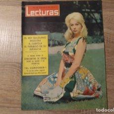 Coleccionismo de Revistas: BALDUINO FABIOLA, EL CORDOBES ETC.LECTURAS 632 AÑO 1964. Lote 182406547