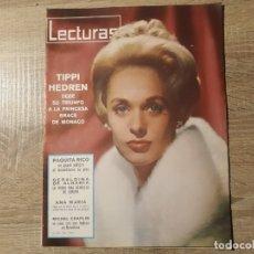 Coleccionismo de Revistas: TIPPI HEDREN, PAQUITA RICO RTCLECTURAS 666 AÑO 1965. Lote 182407328
