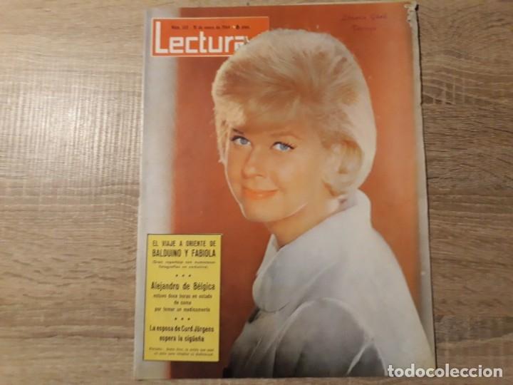 ALEJANDRO DE BELGICA, FABIOLA ETCLECTURAS 615 AÑO 1964 (Coleccionismo - Revistas y Periódicos Modernos (a partir de 1.940) - Revista Lecturas)