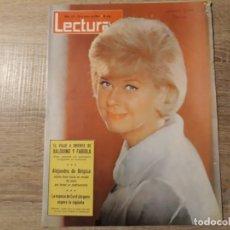 Coleccionismo de Revistas: ALEJANDRO DE BELGICA, FABIOLA ETCLECTURAS 615 AÑO 1964. Lote 182407805