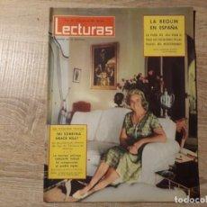 Coleccionismo de Revistas: GRACE KELLY, LA BEGUM ETC.LECTURAS 586 AÑO 1963. Lote 182408020