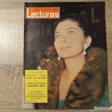 Coleccionismo de Revistas: SANDRA DEE, SORAYA, LUIS AGUILE LECTURAS 624 AÑO 1964. Lote 182408333