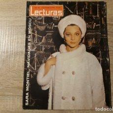 Coleccionismo de Revistas: SARA MONTIEL ETC..LECTURAS 662 AÑO 1964. Lote 182408991