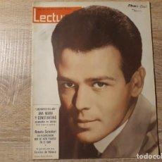 Coleccionismo de Revistas: ANA Y CONSTANTINO CAROLINA DÉ MONACO ETC.LECTURAS 564 AÑO 1963. Lote 182409850