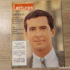 Coleccionismo de Revistas: MISS MUNDO 1965, TONY PERKINS ETC.LECTURAS 657 AÑO 1964. Lote 182410503