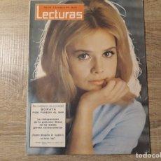 Coleccionismo de Revistas: SORAYA,GRACE,MARGARITA DE INGLATERRA ETC.LECTURAS 650 AÑO 1964. Lote 182411911