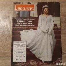 Coleccionismo de Revistas: FARAH DIVA, MARISOL ETC.LECTURAS 601 AÑO 1963. Lote 182412095