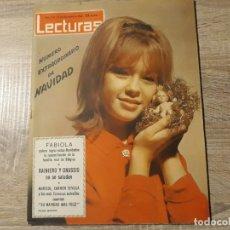 Coleccionismo de Revistas: MARISOL, CARMEN SEVILLA, FABIOLA ETC.LECTURAS 557 AÑO 1962. Lote 182413383