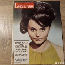 Coleccionismo de Revistas: CARMEN SEVILLA ETC.LECTURAS 638 AÑO 1964. Lote 182414162