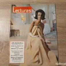 Coleccionismo de Revistas: GRACE DE MONACO ETC LECTURAS 650 AÑO 1964. Lote 182414587