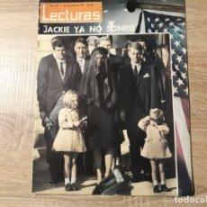 Coleccionismo de Revistas: ENTIERRO KENNEDY ETC.LECTURAS 607 AÑO 1963. Lote 182414881