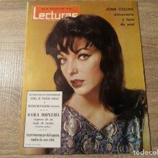 Coleccionismo de Revistas: SARA MONTIEL, ISABEL DE FRANCIA ETCLECTURAS 635 AÑO 1964. Lote 182415011