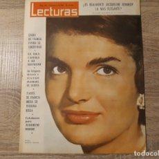 Coleccionismo de Revistas: JACQUELINE KENNEDY ETC.LECTURAS 562 AÑO 1963. Lote 182415442