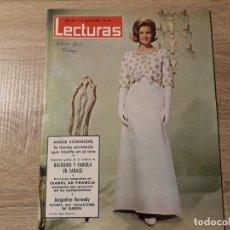 Coleccionismo de Revistas: BALDUINO FABIOLA, JACQUELINE KENNEDY ETC LECTURAS 642 AÑO 1964. Lote 182415617