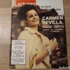 Coleccionismo de Revistas: CARMEN SEVILLA, PRIMERA COMUNION DE MIGUELITO ETC.LECTURAS 634 AÑO 1964. Lote 182416250