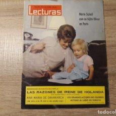Coleccionismo de Revistas: MARIA SCHELL, IRENE DE HOLANDA ETC LECTURAS 626 AÑO 1964. Lote 182416431