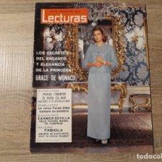 Coleccionismo de Revistas: CARMEN SEVILLA, GRACE DE MONACO.ETC.LECTURAS 633 AÑO 1964. Lote 182417506