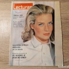 Coleccionismo de Revistas: PRINCIPES DE MONACO, J.KENNEDY ETC.LECTURAS 644 AÑO 1964. Lote 182417650