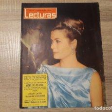 Coleccionismo de Revistas: GRACE DE MONACO IRENE DE HOLANDA ETC.LECTURAS 616 AÑO 1964. Lote 182418108