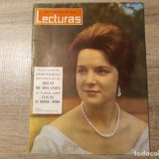Coleccionismo de Revistas: IRENE DE HOLANDA, CARLOS DE BORBON ETC LECTURAS 617 AÑO 1964. Lote 182418261