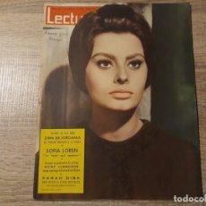 Coleccionismo de Revistas: SOFIA LOREN ETCLECTURAS 565 AÑO 1963. Lote 182418385