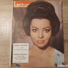 Coleccionismo de Revistas: SARA MONTIEL,ANA DE DINAMARCA ETCLECTURAS 577 AÑO 1963. Lote 182418525