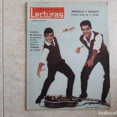 Coleccionismo de Revistas: DUO DINAMICO ETC.LECTURAS 588 AÑO 1963. Lote 182451313