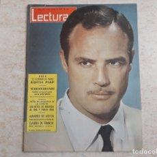 Coleccionismo de Revistas: MARLON BRANDO EDIT PIAF ETC.LECTURAS 600 AÑO 1963. Lote 182451517
