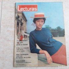 Coleccionismo de Revistas: TONY CURTIS ,GINA LLOLLOBRIGIDA LECTURAS 620 AÑO 1964. Lote 182451865