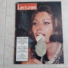 Coleccionismo de Revistas: SOFIA LOREN CARLOS DE BORBON .LECTURAS 664 AÑO 1965. Lote 182452276