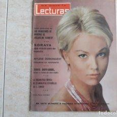 Coleccionismo de Revistas: SORAYA,J.KENNEDY ETCLECTURAS 665 AÑO 1965. Lote 182452432