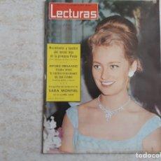 Coleccionismo de Revistas: SARA MONTIEL,PAOLA ETCLECTURAS 602 AÑO 1963. Lote 182453046