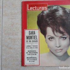 Coleccionismo de Revistas: SARA MONTIEL LECTURAS 629 AÑO 1964. Lote 182454157