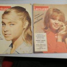 Coleccionismo de Revistas: REVISTA LECTURAS AÑO 1962 NÚMEROS: 551 Y 557 (EXTRAORDINARIO DE NAVIDAD) / EN PORTADAS MARISOL. Lote 183090003