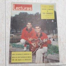 Coleccionismo de Revistas: DUO DONAMICO,SORAYA,IRENE DE HOLANDA ETC. LECTURAS 549.AÑO 1962.. Lote 183175128