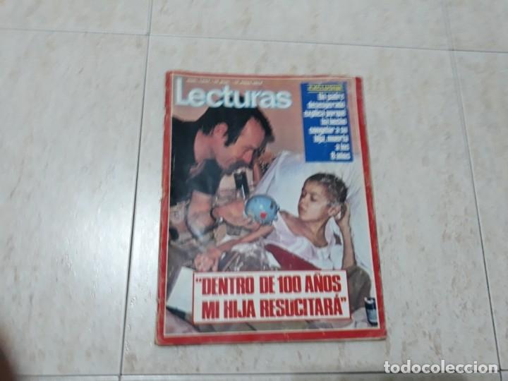CAROLINA ,MACHIN,JOHN Y YOKO ETC.LECTURAS 1.047 AÑO 1972 (Coleccionismo - Revistas y Periódicos Modernos (a partir de 1.940) - Revista Lecturas)