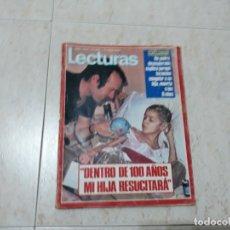 Coleccionismo de Revistas: CAROLINA ,MACHIN,JOHN Y YOKO ETC.LECTURAS 1.047 AÑO 1972. Lote 183177912