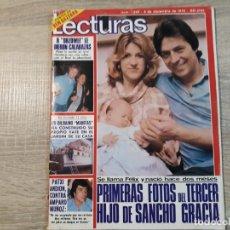 Coleccionismo de Revistas: SANCHO GRACIA,ROCIO DURCAL,IÑIGO ETC.LECTURAS 1390 AÑO 1978.. Lote 183179203