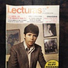 Coleccionismo de Revistas: REVISTA LECTURAS. Nº 908, 12 DE SEPTIEMBRE DE 1969.. Lote 183192583
