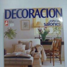 Coleccionismo de Revistas: LECTURAS. DECORACIÓN ESPECIAL SALONES Nº 24 REVISTA DE DECORACIÓN.. Lote 183269351