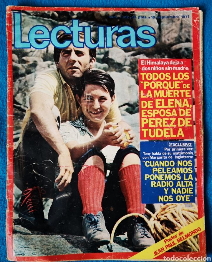 LECTURAS - 10 09 1971 (Coleccionismo - Revistas y Periódicos Modernos (a partir de 1.940) - Revista Lecturas)