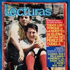 Coleccionismo de Revistas: LECTURAS - 10 09 1971. Lote 183396212