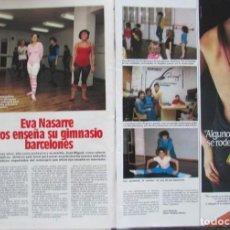 Coleccionismo de Revistas: RECORTE REVISTA LECTURAS 1649 1983 EVA NASARRE. Lote 186273117
