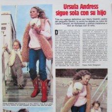Coleccionismo de Revistas: RECORTE REVISTA LECTURAS 1649 1983 URSULA ANDRESS. Lote 186273521