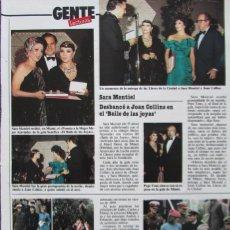 Coleccionismo de Revistas: RECORTE REVISTA LECTURAS 1649 1983 SARA MONTIEL. Lote 186273691