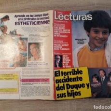 Coleccionismo de Revistas: LECTURAS 1661, AÑO 1984.LASGRECAS,DUQUE Y SUS HIJOS. Lote 186318690