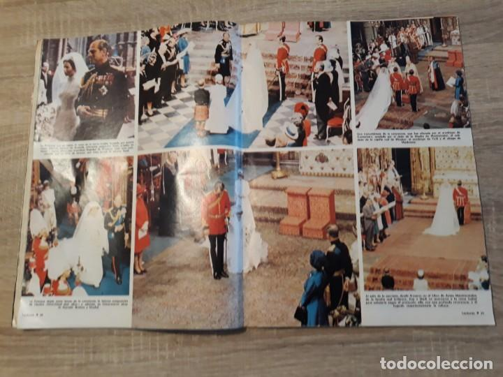 Coleccionismo de Revistas: Lecturas 1127,año 1973 Boda de Ana y Mark,etc - Foto 2 - 186319403