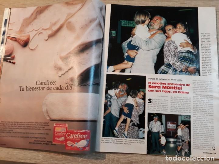 Coleccionismo de Revistas: Lecturas 1835, año 1987,Sara Montiel, Carolina,Carmina Ordoñez,Diana etc.. - Foto 2 - 186319965