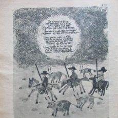 Coleccionismo de Revistas: RECORTE REVISTA LECTURAS 922 1969 CAVA CASTELLBLANCH EXTRA. Lote 186346255
