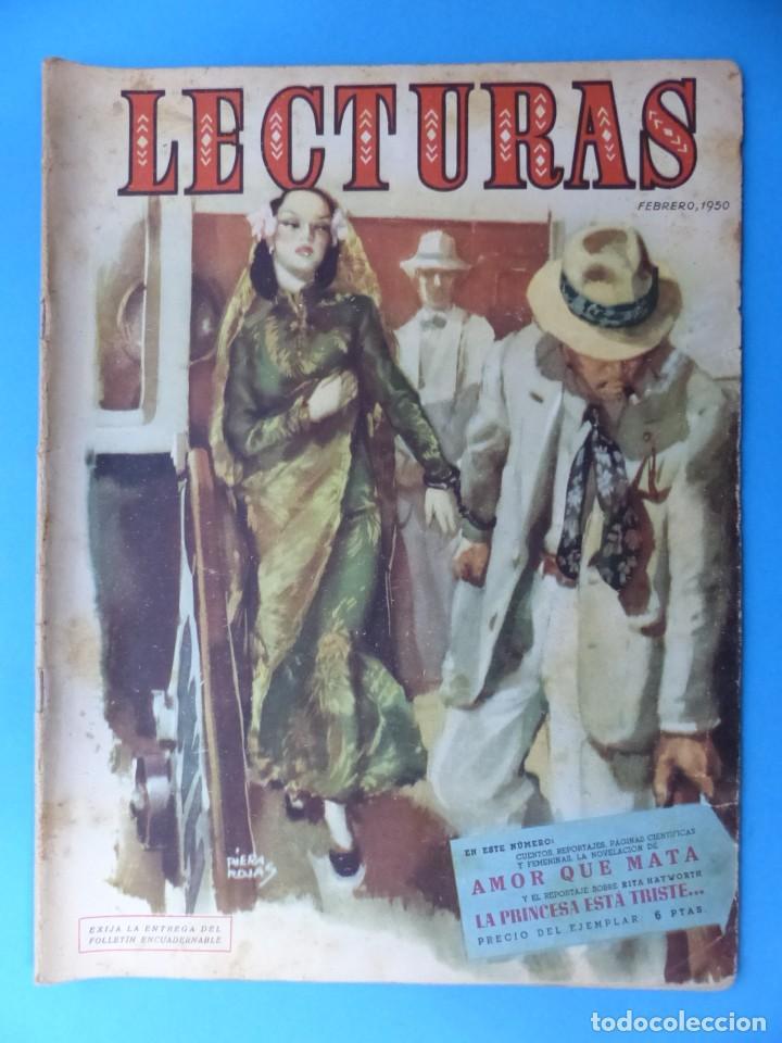 Coleccionismo de Revistas: LECTURAS, 7 ANTIGUAS REVISTAS, AÑOS 1950 - VER FOTOS ADICIONALES - Foto 5 - 186425990